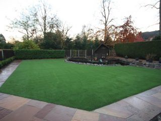 Artificial Grass Lawn Supplied by Smart Direct And Fitted By A Trade Customer